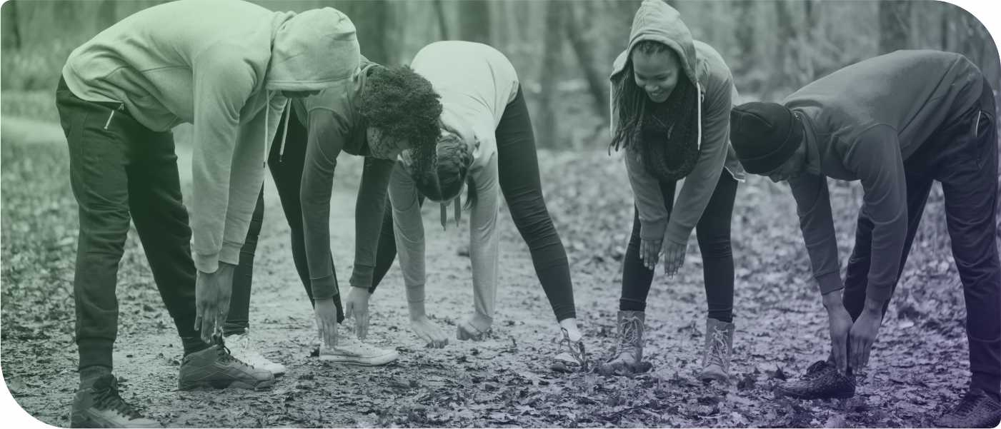 Group Fitness Outdoor Titelfoto